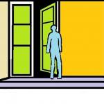 Sepotong Masa Lalu di Depan Pintu